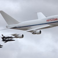 Frys Electronics Inc N747A Boeing 747SP-27 #NKX