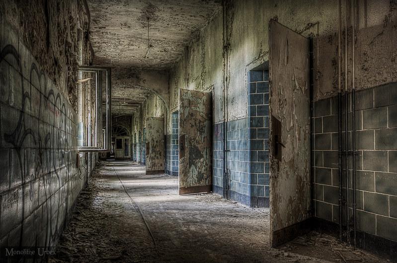 Beelitz heilstätten Berlin Tour corridor (explore 443)