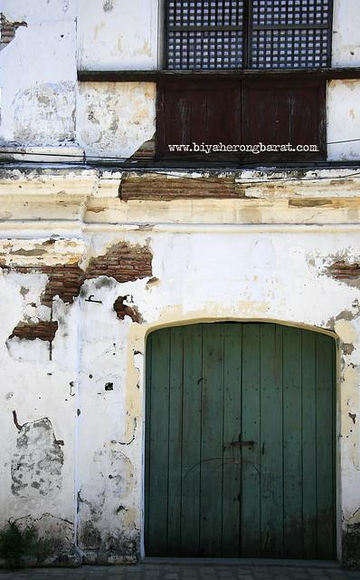 Facade of a house in Calle Crisologo Vigan Ilocos Sur
