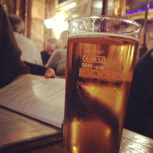 330/366: en dan nu bier! #londonbaby
