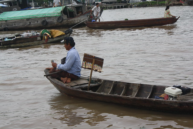 The Lucky Boat in the Mekong Delta