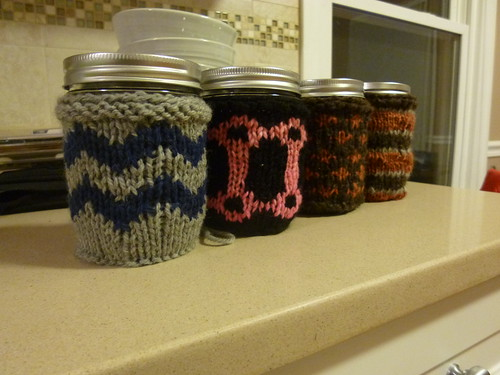 Mason Jar sleeves