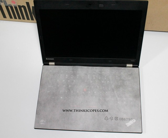 ThinkPad T430u with protective sheet