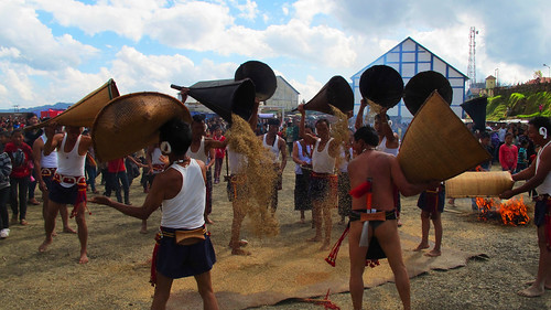 Paddy winnowing, Ahuna 2012, Zunheboto