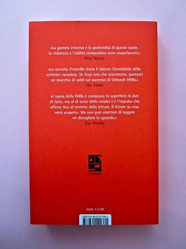 Deborah Willis, Svanire. Del Vecchio editore 2012. Grafica e impaginazione Dario Lucarini. Quarta di copertina (part.), 1