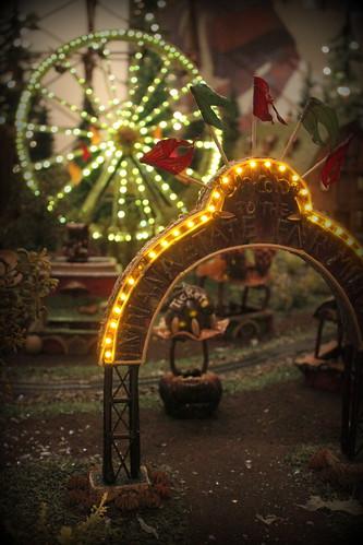 20121122. The Eiteljorg Jingle Trails exhibit. IN State Fair!