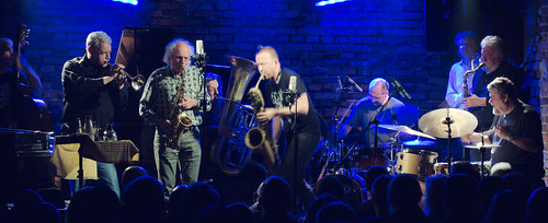 Barry Guy New Orchestra, Krakow, Poland 20-23.11.12