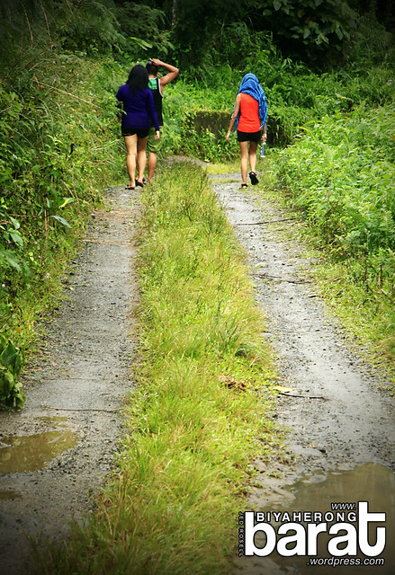 hiking to ditumabo mother falls san luis aurora