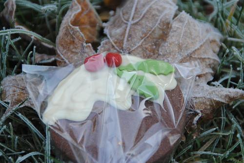 Chocolate sugar cookie christmas cake pop
