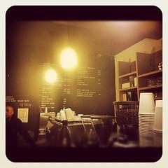 Blackboard menu Fix 126 Coffee