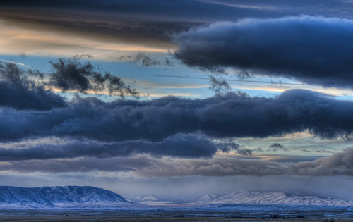 Clouded Snowy Range