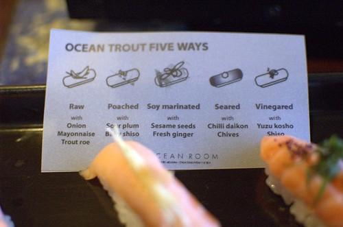 Ocean trout five ways
