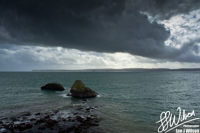 Black Cloud Green Sea – Daily Photo (30th October 2012)