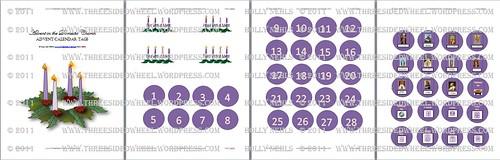 Advent Calendar Tags Screen schot