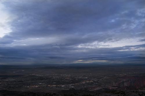 30 Days of Gratitude:  Day 17 -- Evening Sky