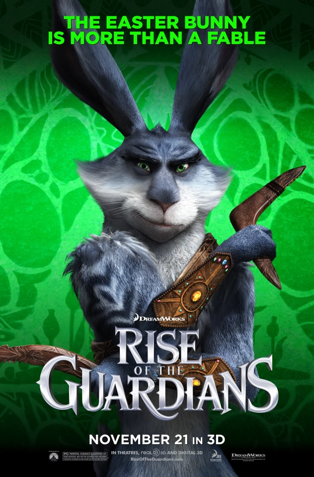 BUNNYMUND (VOICED BY HUGH JACKMAN)