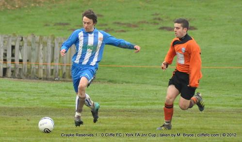 Cliffe FC 0 - 1 Crayke Res (York FA Cup) 24Nov12
