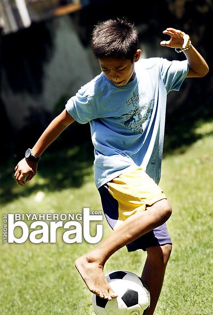 saturday football in madridejos cebu bantayan island
