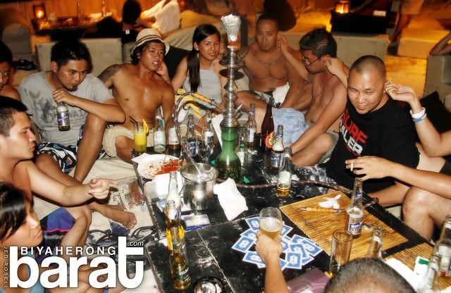 at Bamboo Lounge Boracay