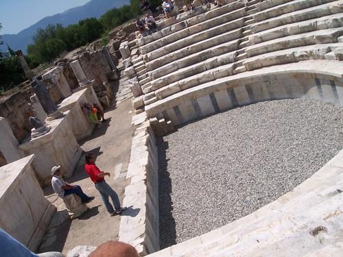 El Odeón y el posterior Palacio Episcopal de Afrodisias Aphrodisias y la diosa griega del amor - 8271882031 5dabcd88c0 - Aphrodisias y la diosa griega del amor