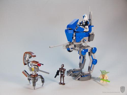 Lego Star Wars Custom AT-RT Walker | This is my second custo… | Flickr