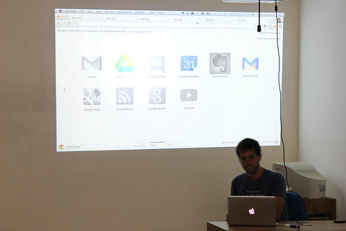Palestra sobre Mac OS do Filipe