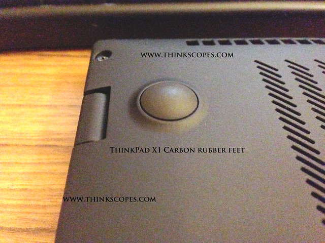 ThinkPad X1 Carbon Rubber Feet