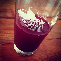 Blackberry Forest Soda, strong color, strong amazing taste.