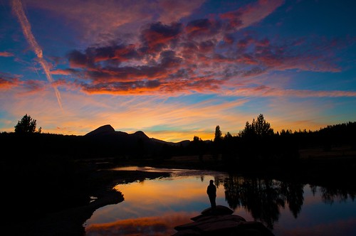 Tuolumne Sunset, Yosemite.