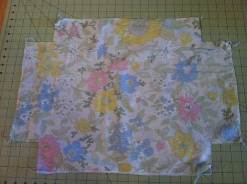 doll bed fitted sheet WIP