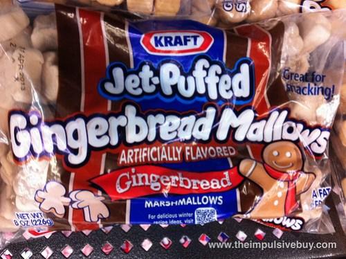 Jet-Puffed GingerbreadMallows