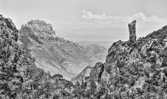 The Cowboy Boot, Chisos Mountains