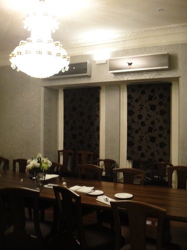 The Terrace Hotel private dining room