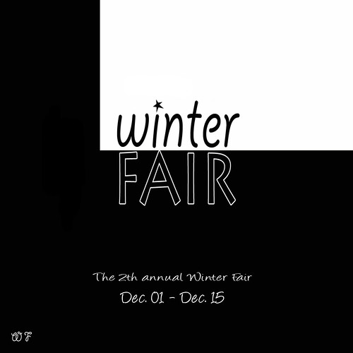 The 2th annual Winter Fair