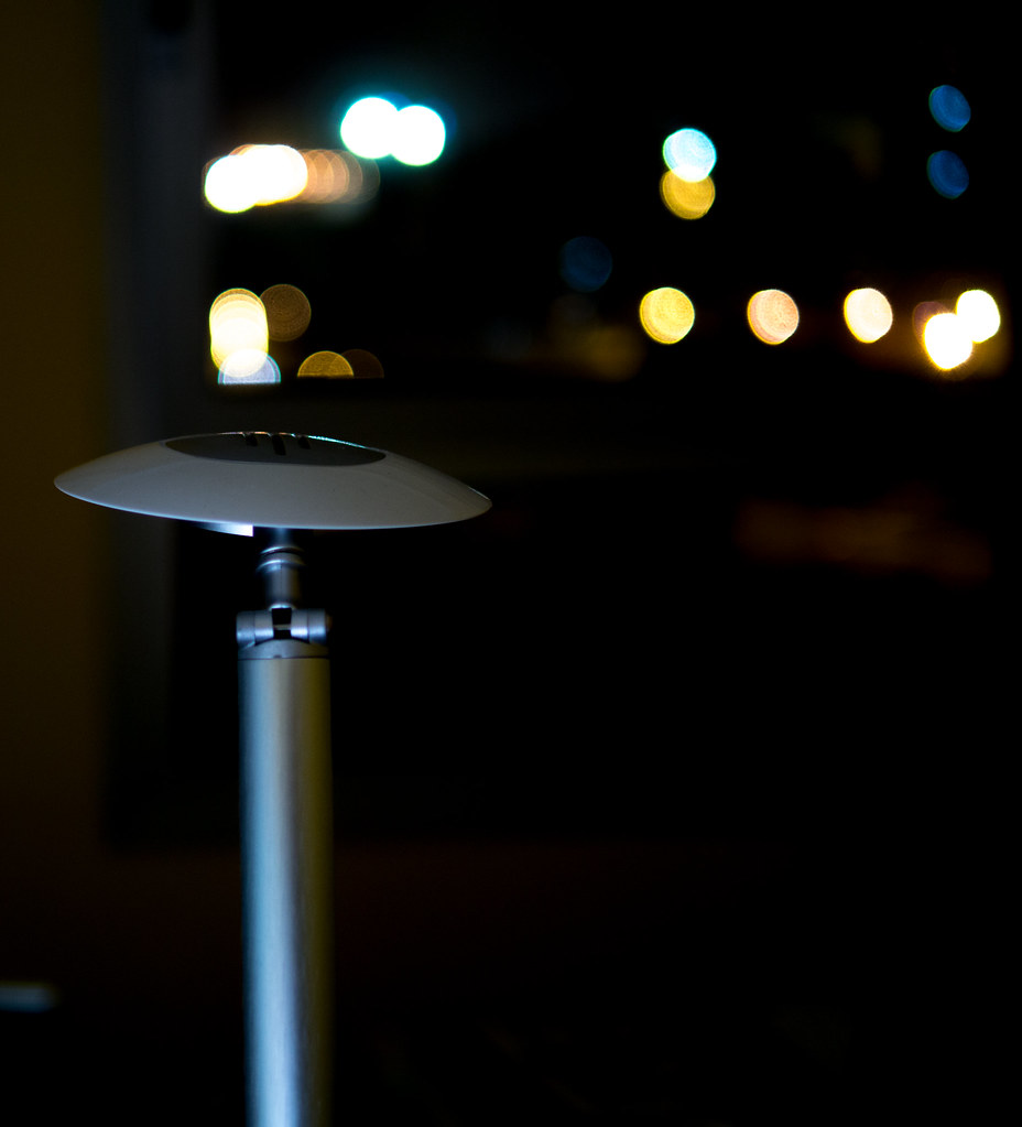 Lamp in the night