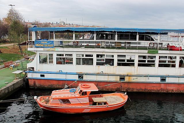 Boat restaurant