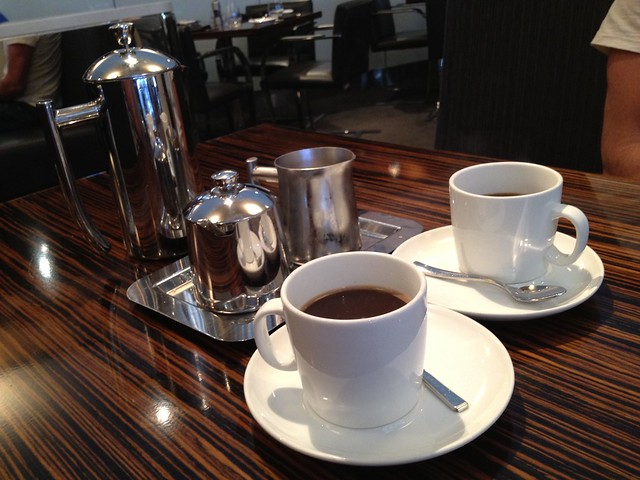 Coffee service - Twenty Five Lusk