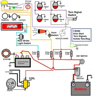 Honda Ex5 High Power Wiring Diagram  Somurich