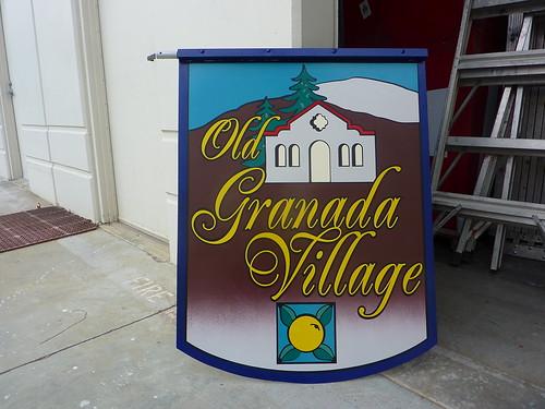 Old Granada Village medallions