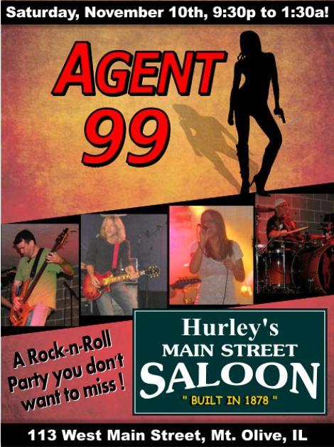 Agent 99, 11-10-12