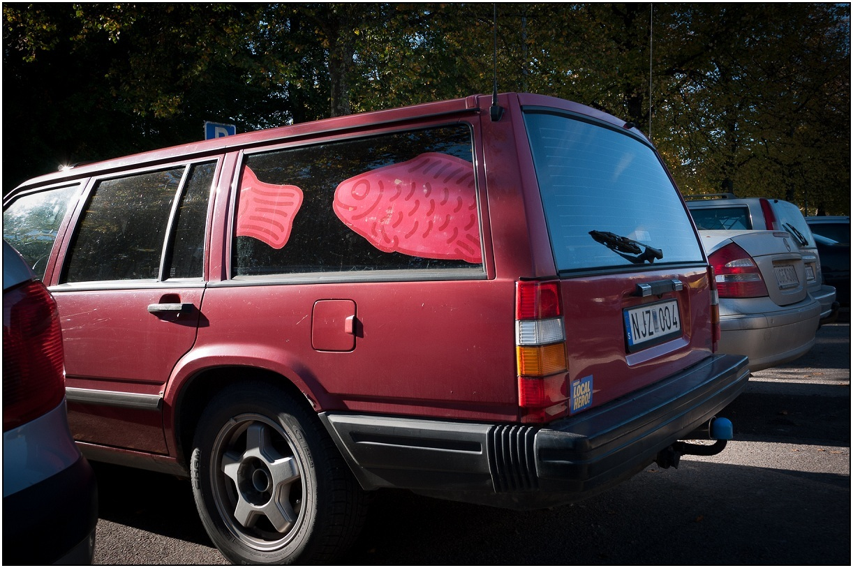Volvo Fish Car