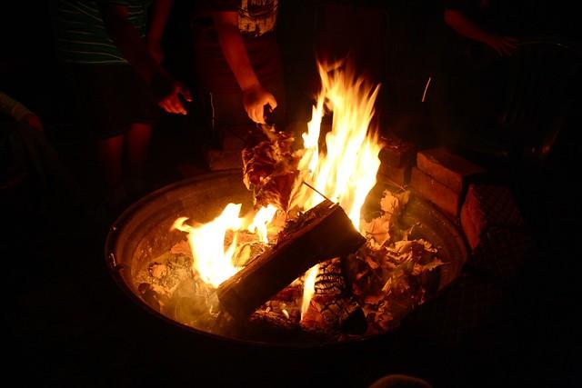 bon fire birthday