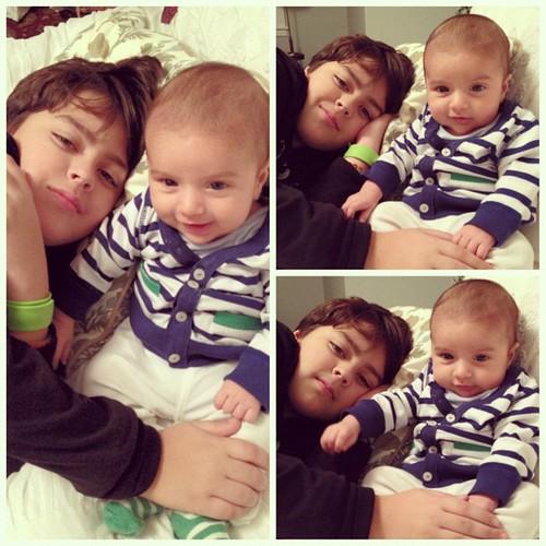 Uncle Jacob and Baby J. We love @itsyourboyjacobschwendiman !
