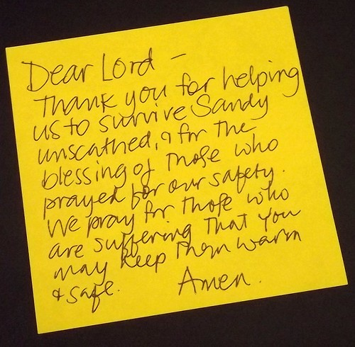 Prayer Sticky 05Nov2012