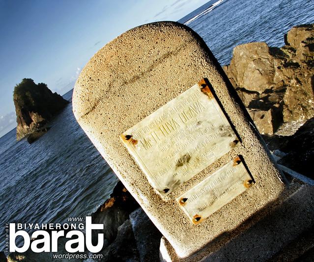 Memorial Stone Tetuya Ogawa Catanduanes Puraran Beach