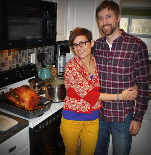 20121122. First Thanksgiving hosting!