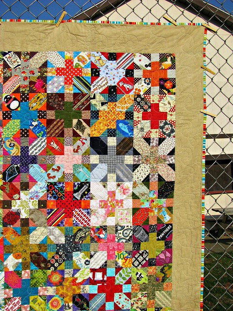 Tough Chickie Quilt, A Quilt About Divorce 4