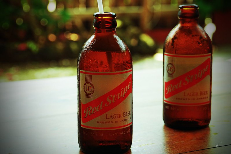 red stripe'