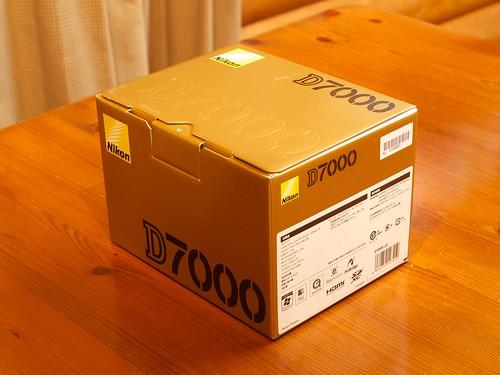 Nikon D7000 Box