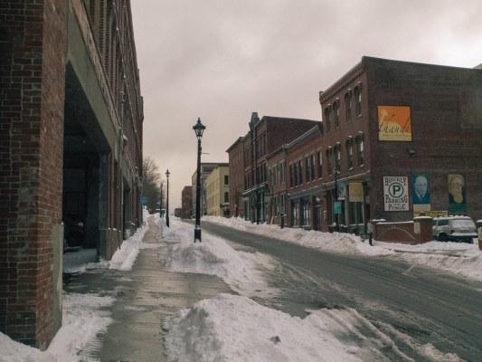 Canterbury Street - Saint John, New Brunswick